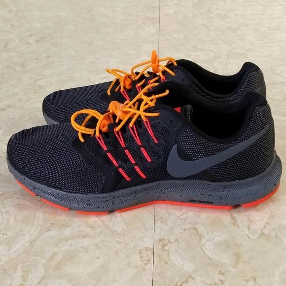 Nike Run Swift Se Mens Black Orange